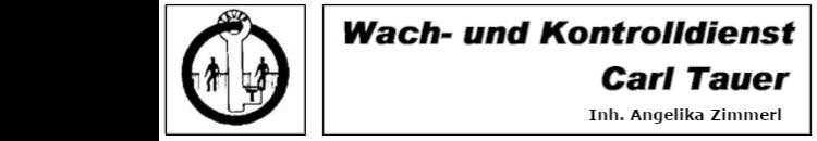 Wach- und Kontrolldienst Carl Tauer